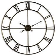 Large Antique Brass Large Skeleton Clock
