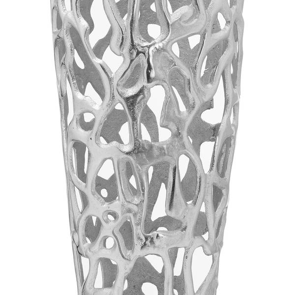 Ohlson Silver Perforated Coral Inspired Vase - Thumb 2