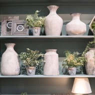 Bloomville Urn Stone Vase - Thumb 3