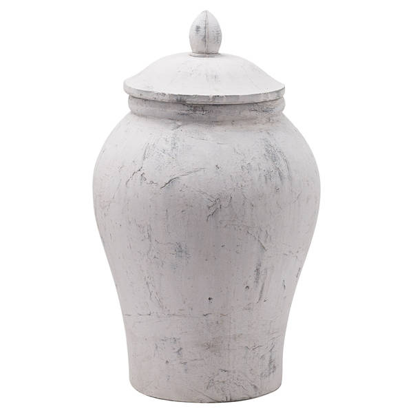 Bloomville Large Stone Ginger Jar