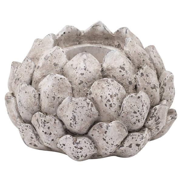 Stone Effect Acorn Tea Light Holder - Thumb 1