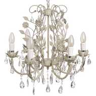 6  Light  Petal  Chandelier
