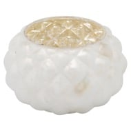 The Noel Collection Small White Votive Candle Holder