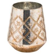 The Noel Collection Large Burnished  Decorative Vase