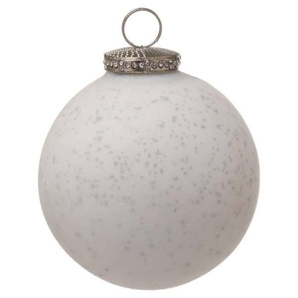 The Noel Collection White Bauble