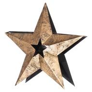 Large Star Tea Light Holder - Thumb 1
