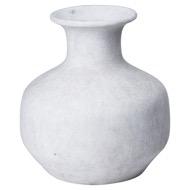 Darcy Squat Stone Vase