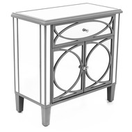 Paloma Collection Mirrored Cupboard