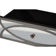 Paloma Collection Mirrored Coffee Table - Thumb 2