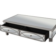 Paloma Collection Mirrored Coffee Table - Thumb 3