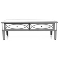Paloma Collection Mirrored Coffee Table - Thumb 1