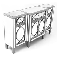 Paloma Collection Mirrored Large Sideboard