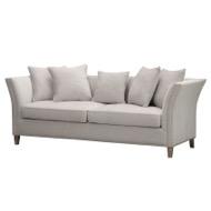 Vesper  Cushion Back  Three Seater Sofa
