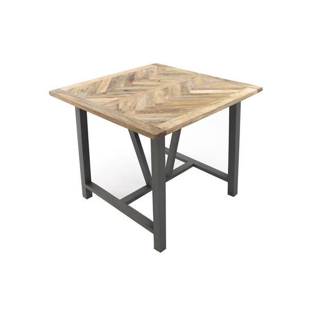 Nordic Grey Collection Square Dining Table