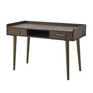 Havana Gold 2 Drawer Desk
