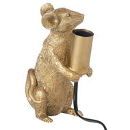 Marvin The Mouse Gold Table Lamp - Thumb 2