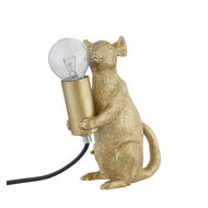 Marvin The Mouse Gold Table Lamp - Thumb 4