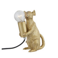 Marvin The Mouse Gold Table Lamp - Thumb 6