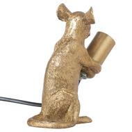 Milton The Mouse Gold Table Lamp - Thumb 2