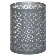 Medium Silver And Grey Glowray Lantern
