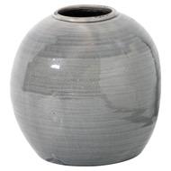 Garda Grey Glazed Tiber Vase
