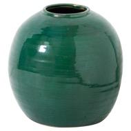 Garda Emerald Glazed Tiber Vase