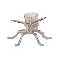 Silver Dragonfly Tealight Holder - Thumb 2