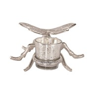 Silver Dragonfly Tealight Holder - Thumb 3