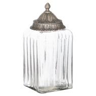 Moroccan Style Lidded Large Display Jar