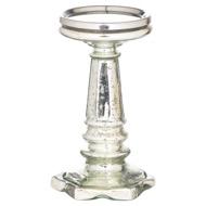 Silver Hexogen Base Small Candle Pillar