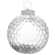 The Noel Collection Smoked Midnight Honeycombe Bauble - Thumb 1
