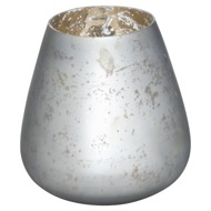 The Noel Collection Mystic Grey Candle Holder
