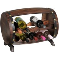 Loir  Barrel  10  Bottle  Wine  Holder