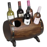 Loir Barrel 6 Bottle Wine Holder