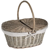 Oval  Picnic  Basket