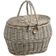 Wicker  Fishing  Basket