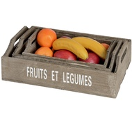 Set  Of  3  Fruit  &  Veg  Trays