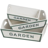 Garden  Set  Of  3  Trays