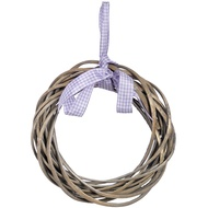 Wicker ring with ribbon