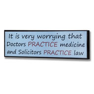 Practice  Law  Plaque