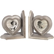 Heart  Photo  Frame  Bookends
