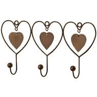 3  Way  Heart  Hooks