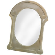 Oval  Antique  Style  Mirror