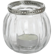 Round Glass Tea Light Votive