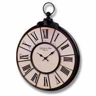 Round  Faced  Clock  With  Roman  Numerals