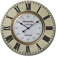 Waverley  Station  Edinburgh  Clock