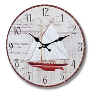Yachting  Clock