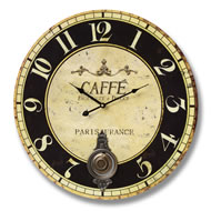Cafe  Paris  Clock