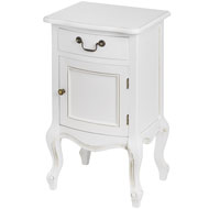 White  Room  Right  Hand  Side  Bedside  Cabinet