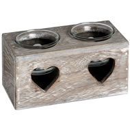 Heart  2  Tea  Light  Holder